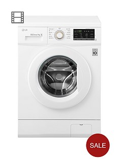 lg-fh4g7qdn0-7kgnbspload-1400-spin-washing-machine-next-daynbspdelivery-white