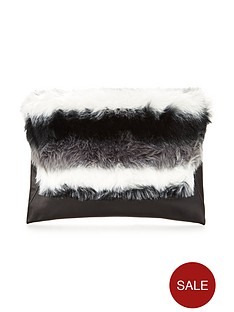 v-by-very-faux-fur-top-envelope-clutch-bagnbsp