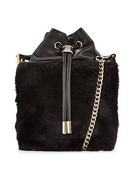 v-by-very-fur-trim-duffle-bag