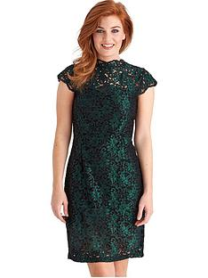joe-browns-elegant-lace-dress-green