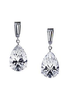 carat-london-9k-white-gold-baguette-amp-pear-shape-drop-earrings