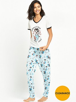 mink-pink-mink-pink-mermaid-hair-don039t-care-pyjamas