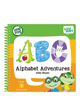 Leapfrog Leapstart Nursery Activity Book Alphabet Adventures