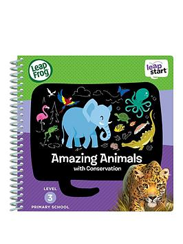 Leapfrog Leapstart Reception Activity Book Amazing Animals And Conservation