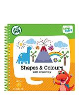 LeapStart Nursery Activity Book: Shapes, Colours & Creative Expression