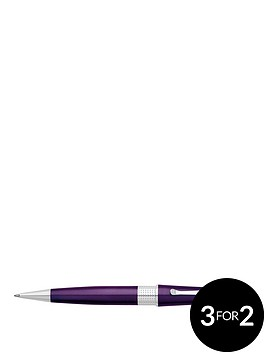 cross-beverly-purple-lacquer-ball-pen