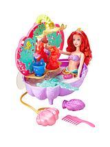 "Disney Princess "" 2 pack set"" Ariels Flower Bath Tub and Ariel Water Princess Doll"
