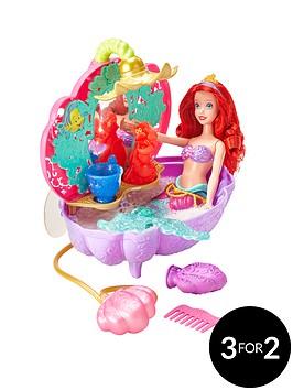 disney-princess-quot-2-pack-setquot-ariels-flower-bath-tub-and-ariel-water-princess-doll