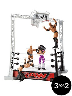 wwe-slam-and-launch-arena-with-4-figures-quot5-part-set-quot