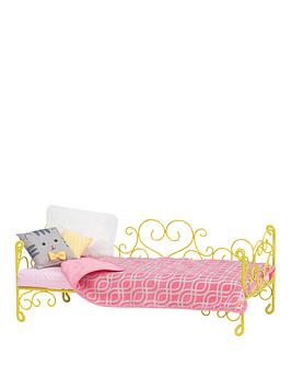 our-generation-our-generation-scrollwork-bed-yellow-heart