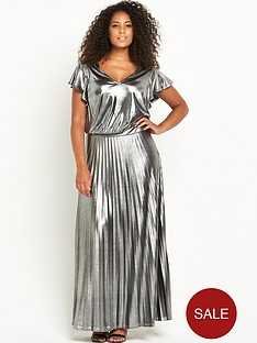 so-fabulous-pleated-skirt-metalic-maxi