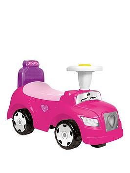 step-car-2-in-1-pink