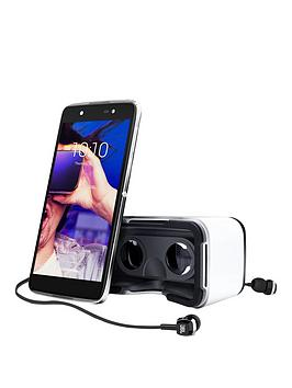 Alcatel Idol 4 With Vr Headset  Grey