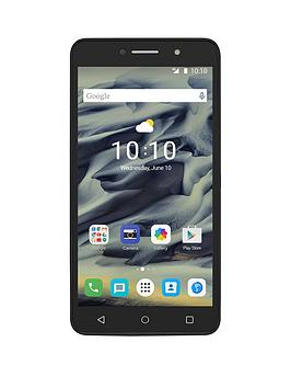 Alcatel Alcatel Pixi 4  6 Inch 4G  Black With Free Case
