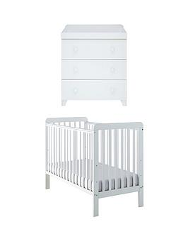 little-acorns-little-acorns-classic-white-cot-amp-changer-buy-and-save