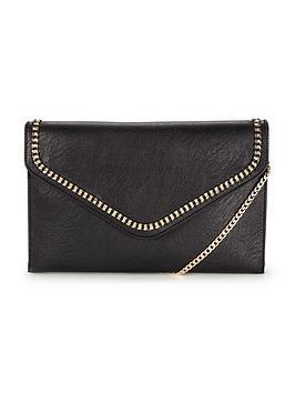 dune-essy-chain-clutch-bag