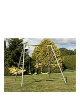 Painted Double Swing Set