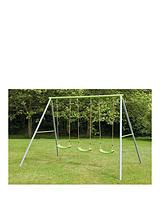 Painted Triple Swing Set