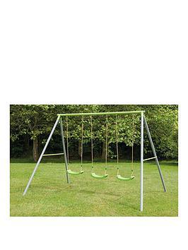 tp-painted-triple-swing-set