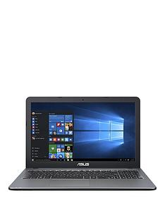 asus-x540sa-intel-celeron-processor-4gb-ram-1tb-hard-drive-156-inch-laptop-with-optional-12-months-microsoft-office-365-silver