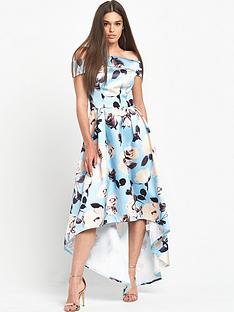 chi-chi-london-chi-chi-london-floral-print-bardot-dip-hem-maxi-dress
