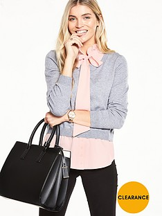 v-by-very-bow-neck-detail-2-in-1-jumper
