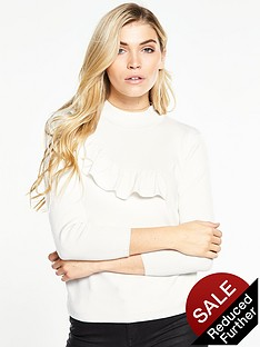 v-by-very-ruffle-front-jumper