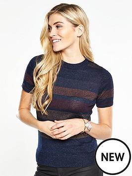 v-by-very-striped-lurex-short-sleeve-jumpernbsp