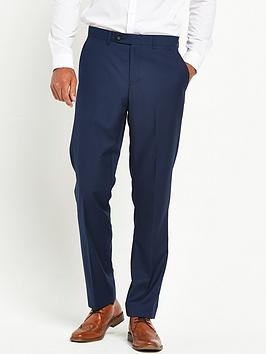 Skopes Skopes Joss Tapered Slim Fit Flat Front Trouser - Royal Blue Picture