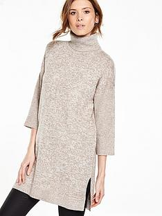 v-by-very-roll-neck-oversizednbspcape-tunicnbsp