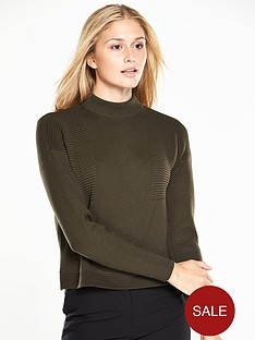 v-by-very-ribbed-funnel-neck-jumper
