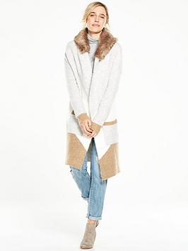 v-by-very-fur-hood-cardigan