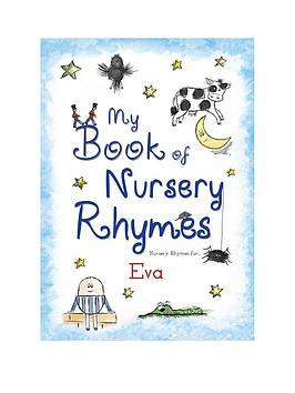 personalised-my-book-of-nursery-rhymes