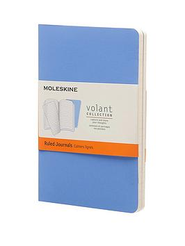 moleskine-moleskine-volant-ruled-a6-pocket-journal-twin-pack--blue