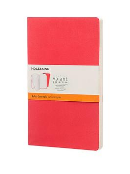 moleskine-moleskine-volant-ruled-large-a5-journal-twin-pack-red