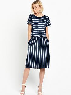 warehouse-stripe-t-shirt-dress