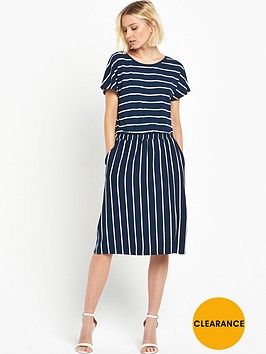 warehouse-stripe-t-shirt-dress