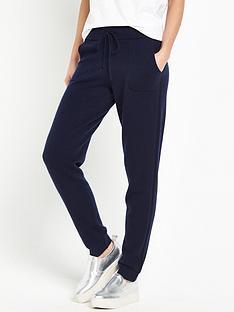 warehouse-cashmere-jogger-navy