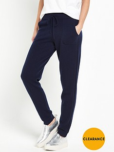 warehouse-cashmere-jogger-navy