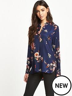 warehouse-painted-floral-placket-blouse