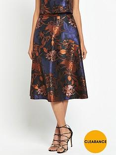 warehouse-jacquard-prom-skirt