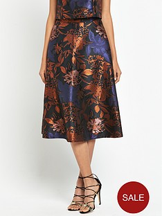 warehouse-jacquard-prom-skirt