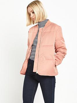 warehouse-padded-jacket-pink