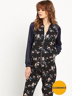 miss-selfridge-soft-printed-bomber-jacket