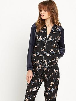 miss-selfridge-soft-printed-bomber-jacket