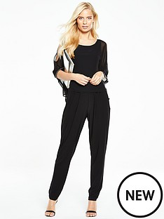wallis-diamante-sleeve-jumpsuit