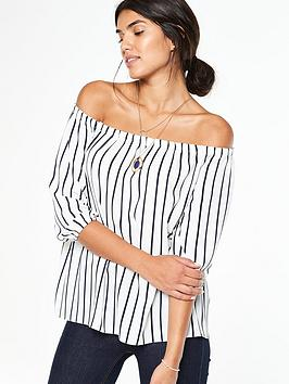 wallis-stripe-off-shoulder