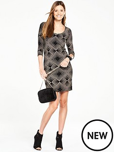 wallis-geo-sparkle-dress