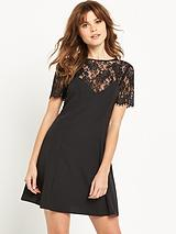 2-in-1 Lace CamiDress