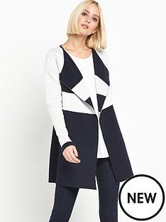 miss-selfridge-miss-selfridge-stripe-coatigan